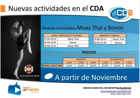Nuevas actividades en el CDA