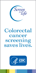 Colorectal cancer screening saves lives.