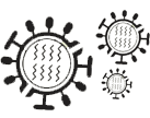 flu virus icon
