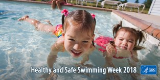 Image result for healthy and safe swimming week 2018