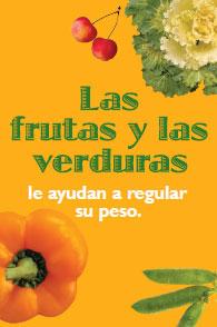 Cómo hacer uso de las frutas y las verduras para ayudar a controlar el peso