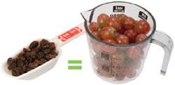foto de uvas y pasas