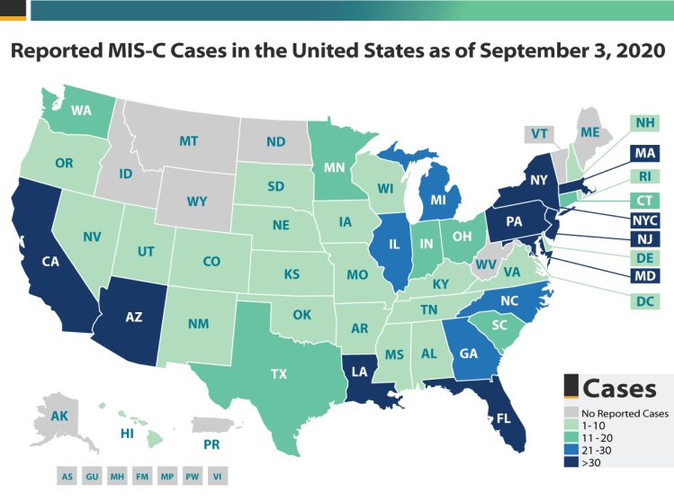 Health Department-Reported Cases of Multisystem ...