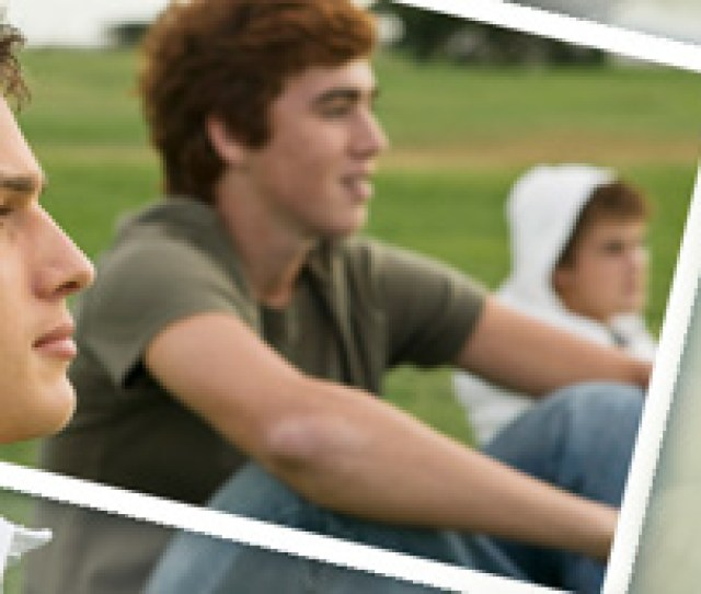 Graphic Of Two Teen Aged Boys Sitting On The Sidewalk