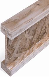 Figura 1. Viga de madera procesada doble T