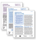 Provider Resources: fact sheets