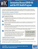 Coronavirus (COVID-19) - WTC Health Program