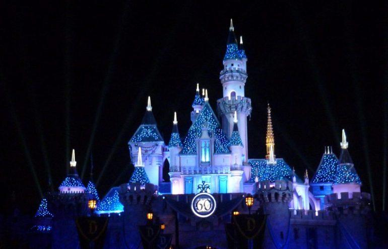 chateau de nuit disneyland