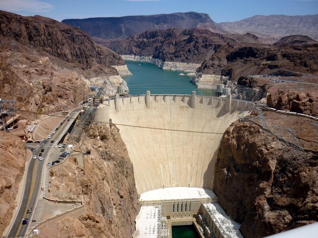 vue du barrage hoover