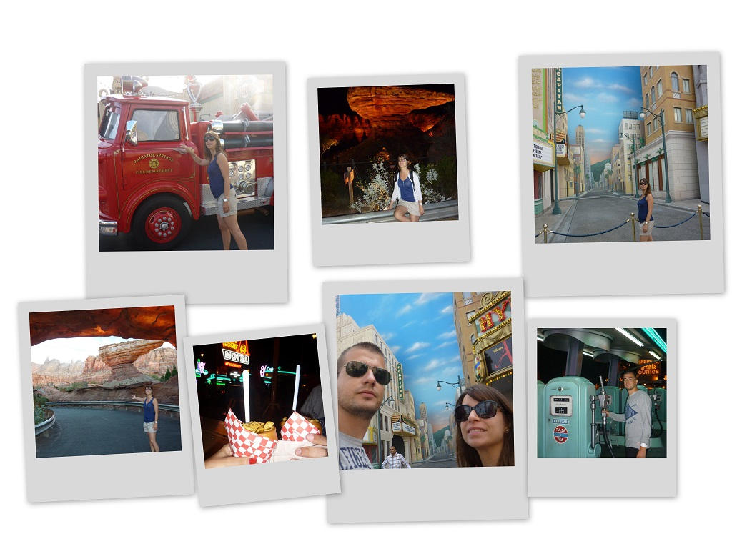 Polaroid Disneyland