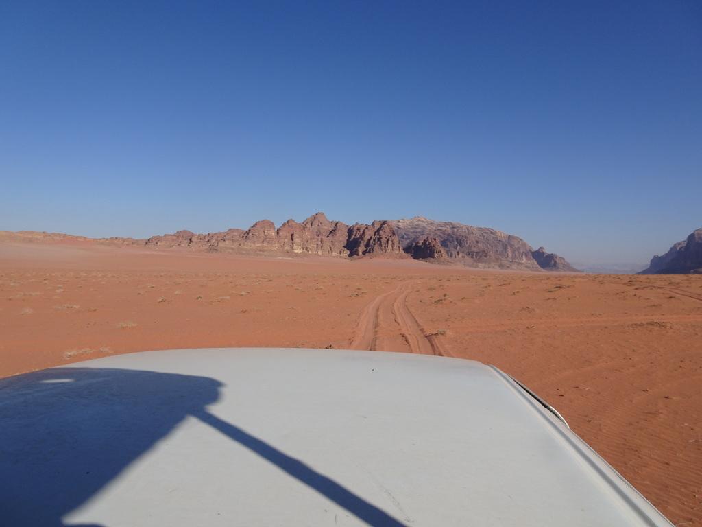 desert de jordanie