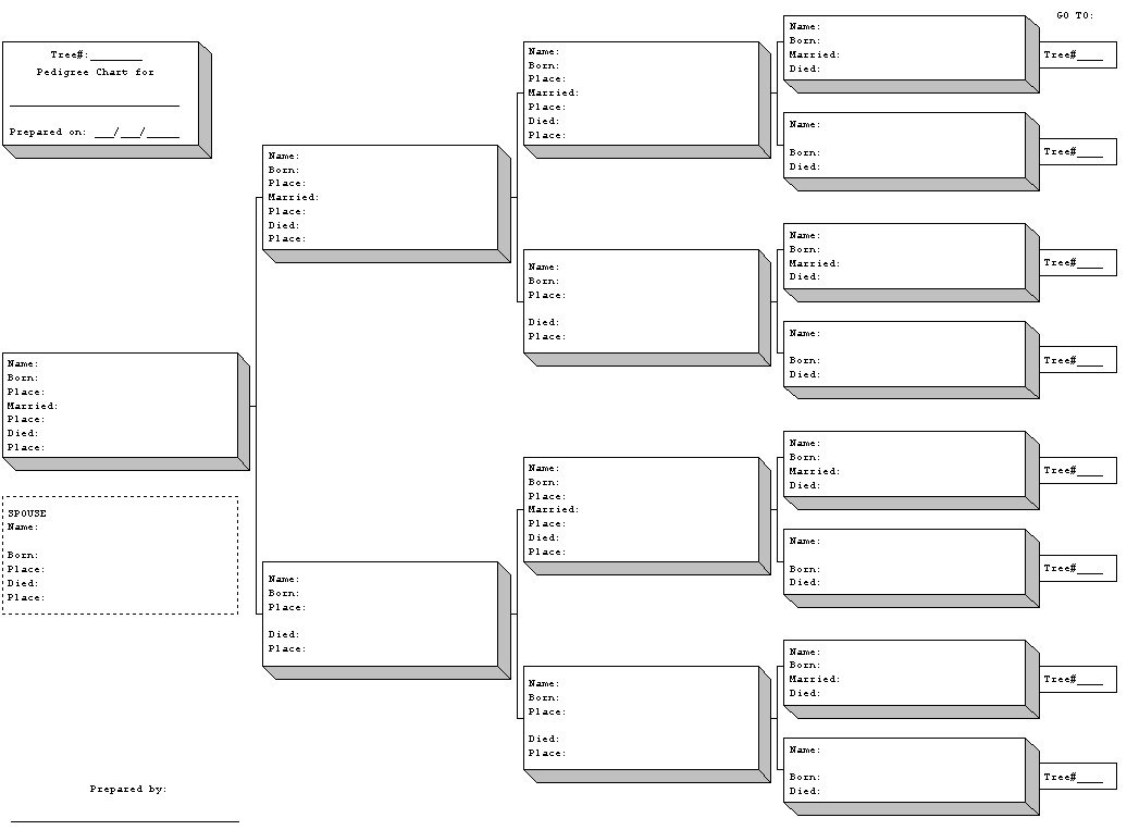 Ancestry Charts Templates. . blank. here is a visual cue to help ...