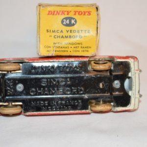 "Dinky Toys: Simca vedette ""Chambord"" 24K"