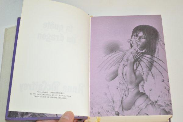Anne McCaffrey: La quête du Dragon
