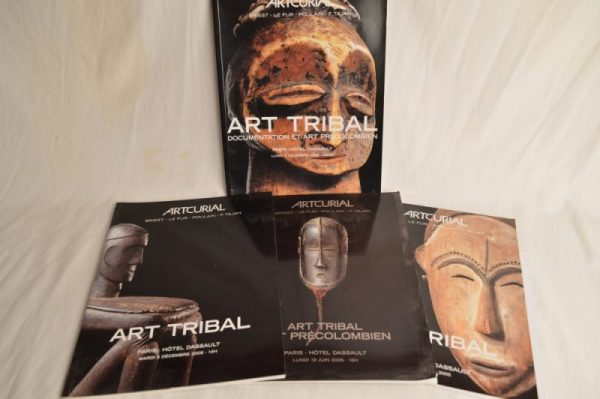 Artcurial: 4 Catalogues de ventes sur l'art Tribal