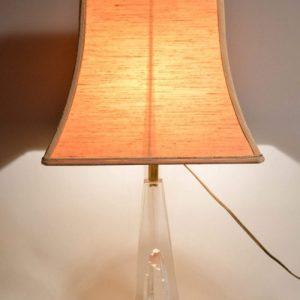 Daum: Lampe de Bureau Art Déco en verre