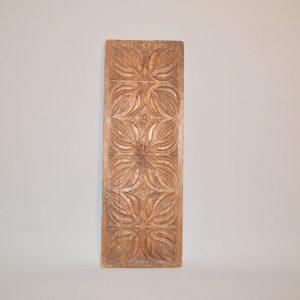 Panneau en bois sculpté XVIe siècle - Décor Médiévale/ gothique