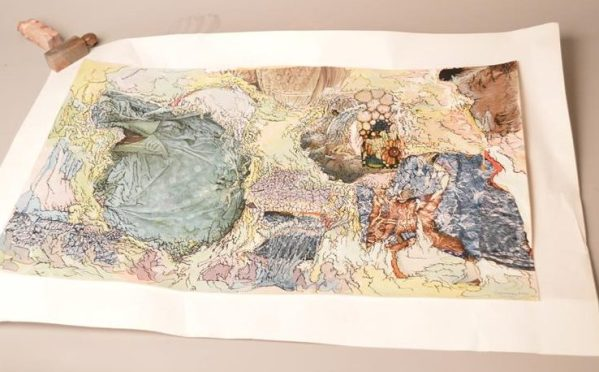 André CIPRIANI (XX): Tableau contemporain