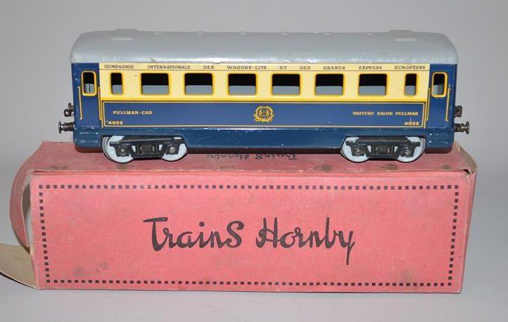 Hornby N° 4025 – Voiture Salon Pullman des Wagons-Lits