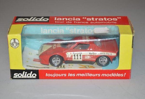 "SOLIDO: No 27 - Lancia ""stratos"" tour de France automobile"