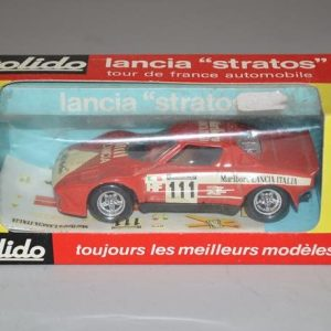 "SOLIDO: No 27 - Lancia ""stratos"" tour de France automobile"