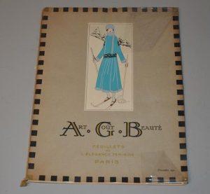 Art, goût, beauté : feuillets de l'élégance féminine Paris (Décembre 1921)