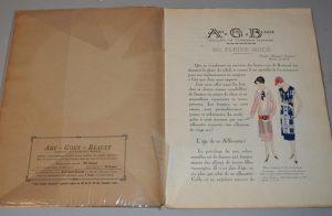 Art, goût, beauté : feuillets de l'élégance féminine Paris (Juin 1925)