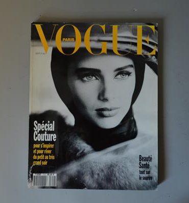 Vogue Paris - 719 - Septembre 1991 - Heather Stewart Whyte