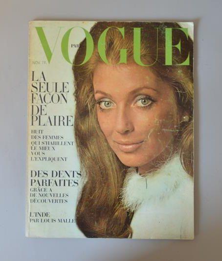 Vogue Paris - Novembre 1968 - Joanna Shimkus