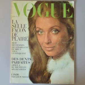 Vogue Paris - Novembre 1968 - Joanna Shimkus