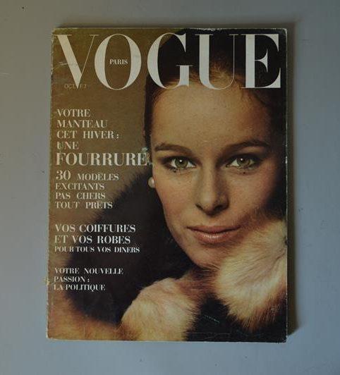 Vogue Paris - Octobre 1969 - Géraldine Chaplin