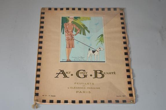Art, goût, beauté : feuillets de l'élégance féminine Paris (Janvier 1927)