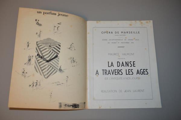 Opéra de Marseille: Jean Cocteau - La danse à travers les ages - 1946