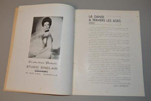 Opéra de Marseille - théatre - Jean Cocteau - La danse à travers les ages - 1946