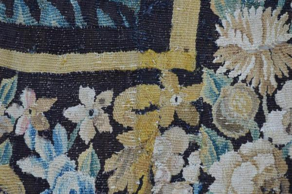 Aubusson : Fragment de tapisserie - XVIII