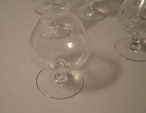 Baccarat France: Six verres à cognac