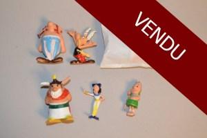 """Figurines publicitaire de la marque """"Huilor"""" série ASTERIX et OBELIX - 1967 MACAU"""