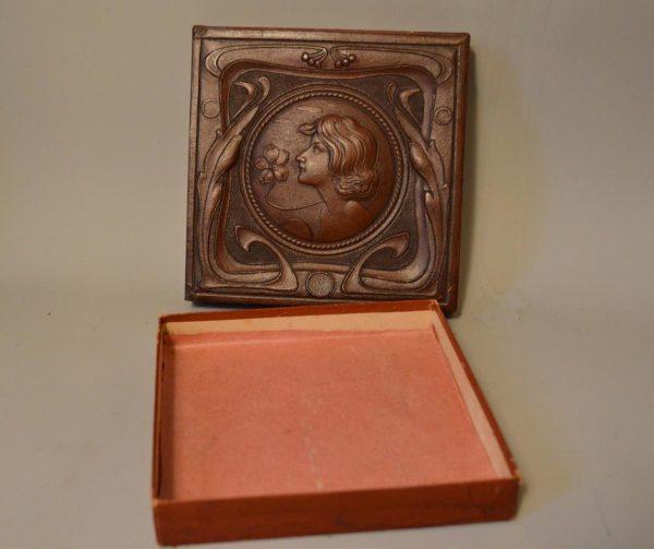 Hermès - Ancienne boite époque Art Nouveau
