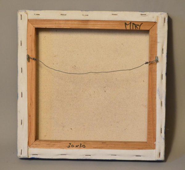 Miry HUYGHE - Tableau - Composition - peinture et collages sur Toile