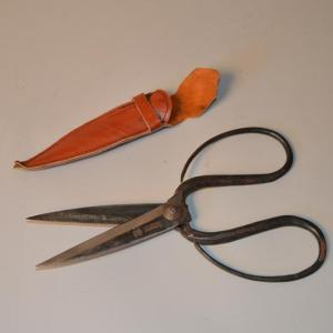 Paire de Ciseaux de verrier ou de tailleur
