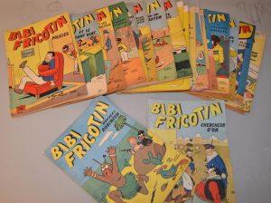 BIBI FRICOTIN - Lot de 27 bande dessiné de Pierre Lacroix