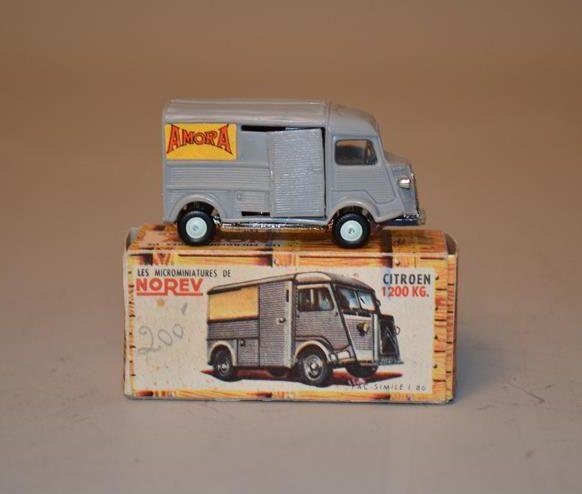 NOREV – Les Micro-miniatures – Modèle Citroën KG – fourgon