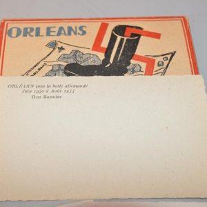 Orleans sous la botte - Juin 1940 - Aout 1944, éditions Vogue