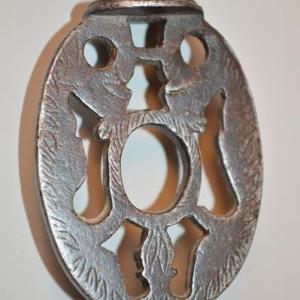 Clé ancienne - clef en fer forgé ciselé - époque XVIII eme