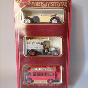 Matchbox model of Yesteryear - Limited edition gift set