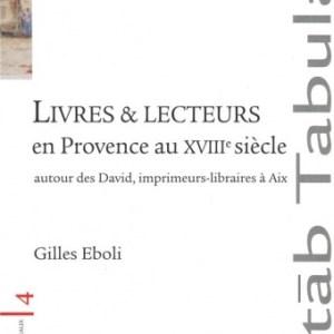 Livres et lecteurs en Provence au XVIIIe siècle