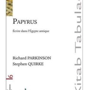 Papyrus écrire dans l'Egypte antique - livre