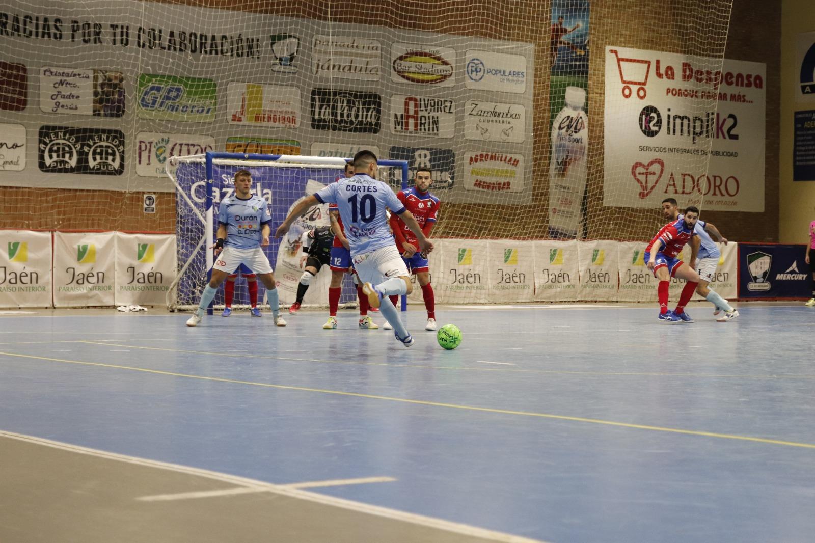 Victoria de Durán Ejido Futsal a domicilio ante Mengíbar