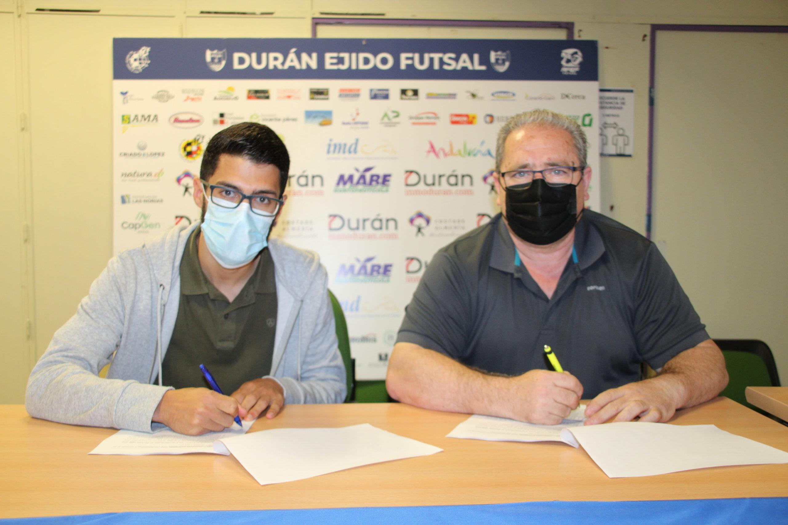 Jesús Gómez seguirá un año más en el CD El Ejido Futsal