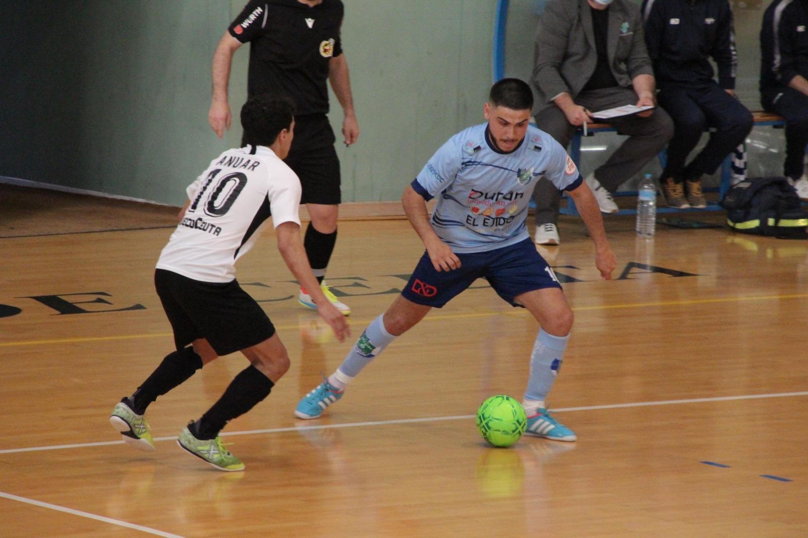Derrota condicionada de Durán Ejido Futsal en Ceuta